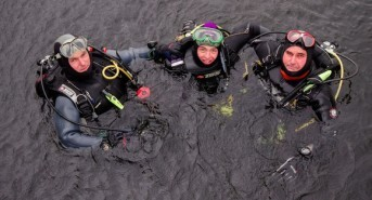 Paralysed Josh Davies qualifies as scuba diver months after accident