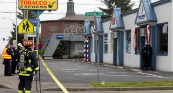 Washington dive centre damaged after oxygen tank explodes
