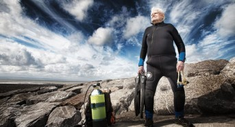 World's Oldest Diver, Norman Lancefield, Has Passed Away