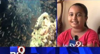 10-year-old from Mumbai is world's youngest female scuba diver