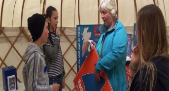 VIDEO: Mary Tetley from BSAC says hello from Scubafest Cornwall 2014