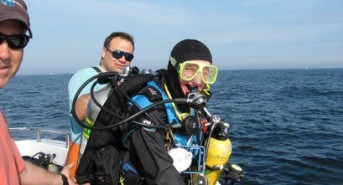 Rhode Island scuba diver recognized for charitable contributions