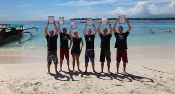 PADI IDC Gili Islands Searches for PADI Open Water Scuba Instructors for Brand New Dive Centre
