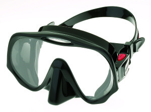 Atomic Frameless Mask Black