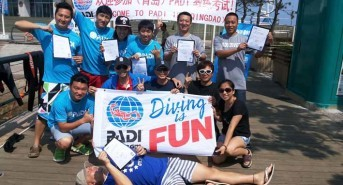 Chinese city hosts its first PADI Instructor Exam