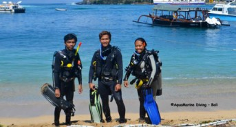 AquaMarine Diving Bali Continue to Support the Local Dive Community