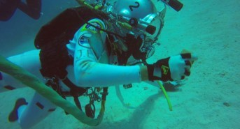 Astronauts go diving to train for future asteroid missions