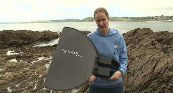 EXCLUSIVE: Emma Farrell reviews the Carbon M1 Monofin from Subgear (watch video)