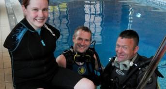 UK woman born without arms becomes scuba diving ambassador