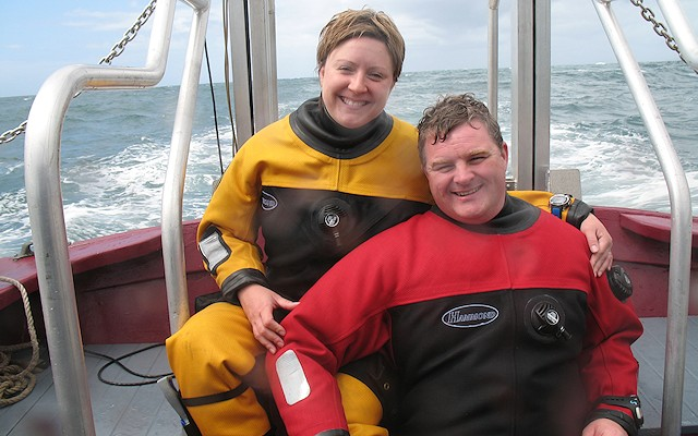 Personalise your drysuit with Hammond Drysuits