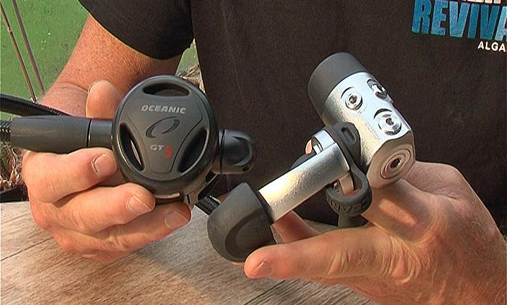 Oceanic GT3 CDX5 Regulator Video Review