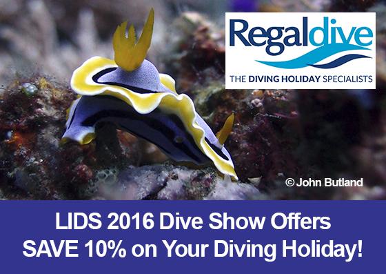 Fantastic Savings with Regaldive at LIDS 2016