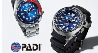 Watch manufacturer partners with PADI