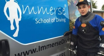 Immerse School of Diving Announce the 2016 Georgia Williams Diving Scholarship