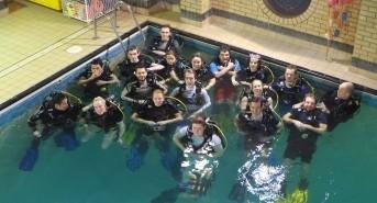 Solent University Sub-Aqua Club scoops top award