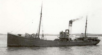 Minesweeping Trawler 'Arfon' Untouched on the Seabed for 100 Years Protected