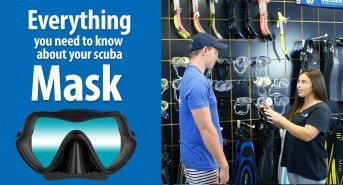 Everything you need to know about your Scuba Mask, Part 4: Mask Clearing: As Easy as 1-2-3