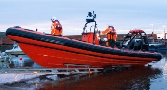 St Abbs welcomes its brand new independent lifeboat