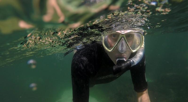 Scuba Diving Equipment Review: IST Snorkel Set (Watch Video)