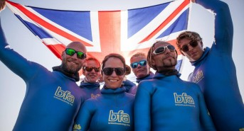 British freedive team perform at the World Championships in Kalamata, Greece