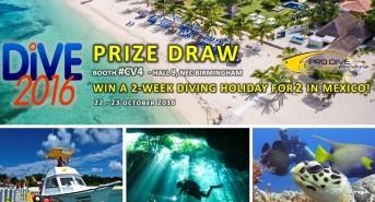 Meet the Pro Dive International team at DIVE 2016