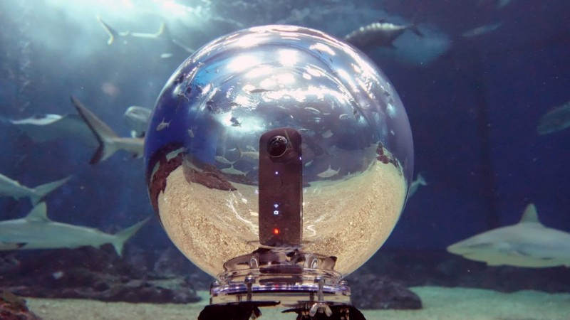 Underwater Photography News from DIVE 2016, Part 1: 360bubble