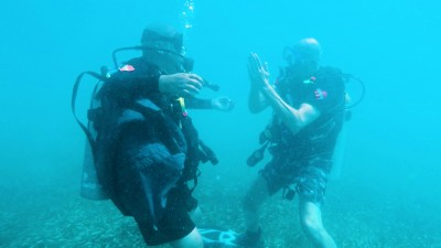 Diving past boundaries: scuba as therapy (watch video)
