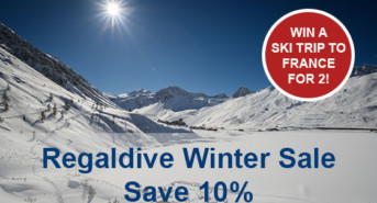 Save 10% and a Chance to Win a Ski Trip for Two with Regaldive