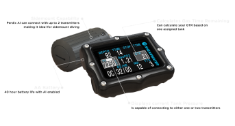Experience Legendary Diving with the Perdix AI from Shearwater