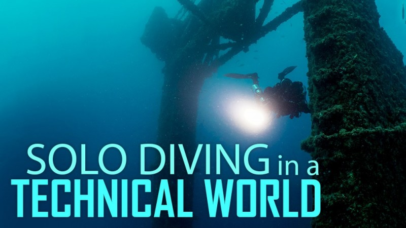 Solo Diving in a Technical World