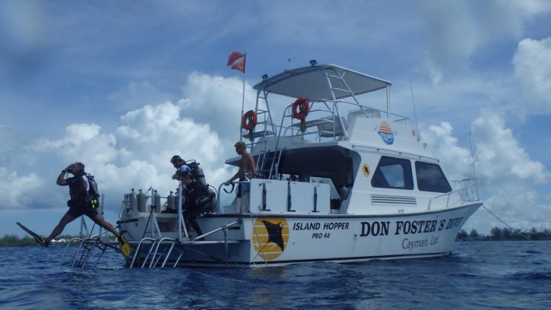 Dive Centre of the Day: Don Foster's Dive, Grand Cayman