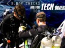 Buddy checks are for tech divers too
