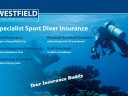 Going diving? Westfield Insurance has got you covered