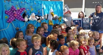 Shark and ocean conservation campaign launches ocean themed puppet show