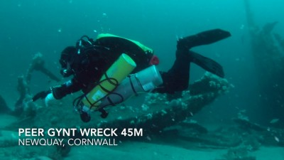 Wreck Diving in Cornwall with Ash Roberts (Watch Video)