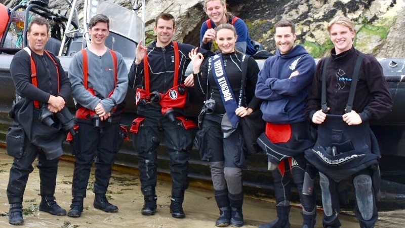 Miss Scuba UK Hannah Higgins reviews the Mares XR Kevlar Drysuit