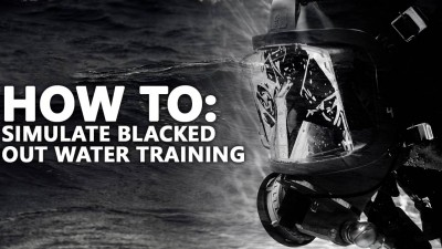 How to simulate blacked out water training