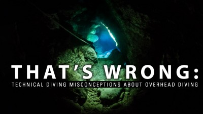 That's wrong: misconceptions about overhead diving