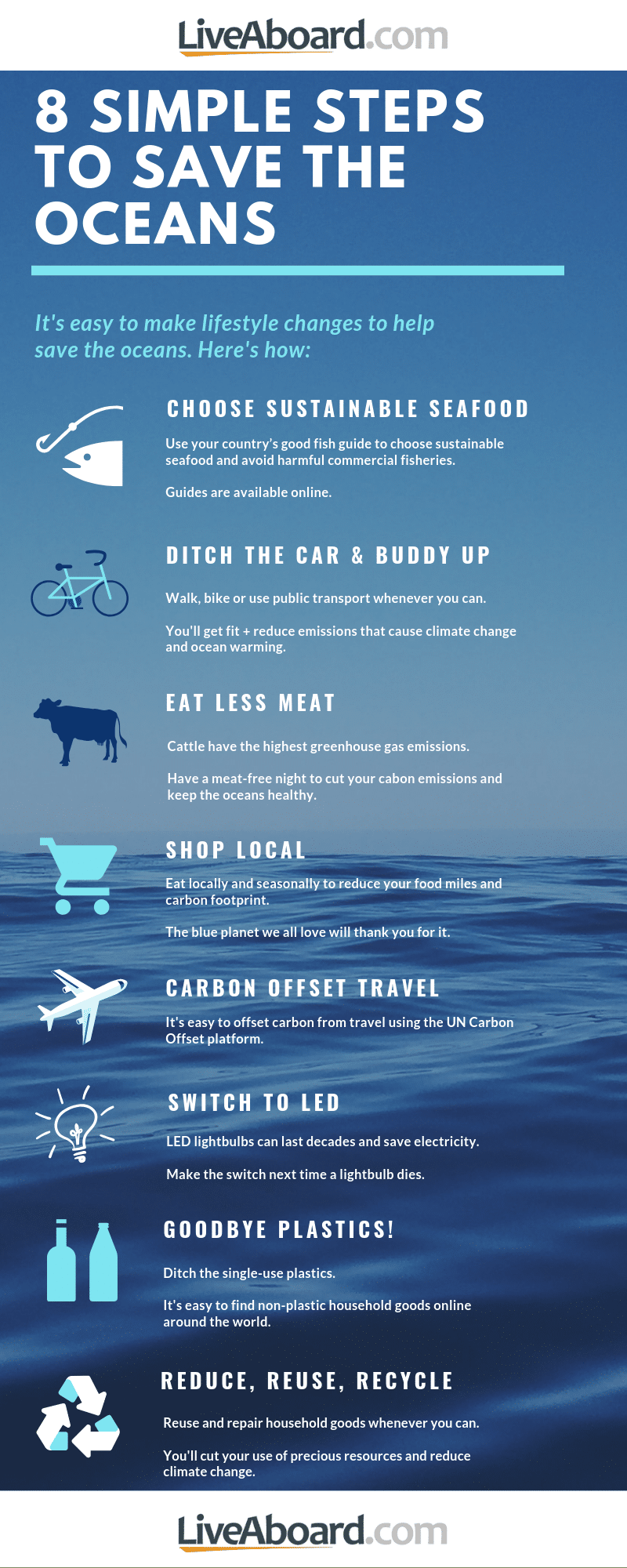 8 Easy Ways You Can Help Solve Ocean Pollution
