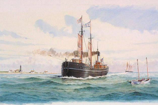 Project artwork: Portrait of Vienna at Whitefish Point by Bob McGreevy